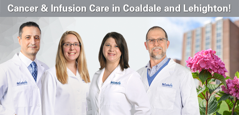 Cancer & Infusion Care in Coaldale and Lehighton