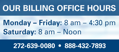 Billing Office Hours
