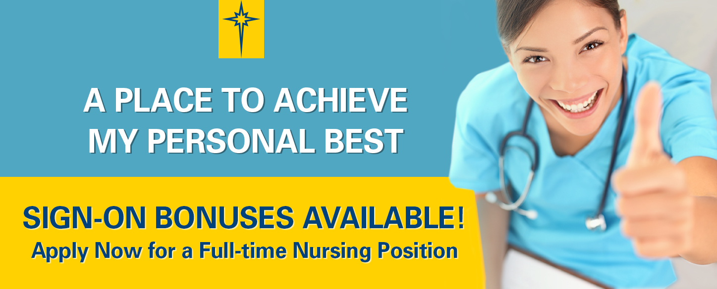 Apply Now for a Full-time Nursing Position